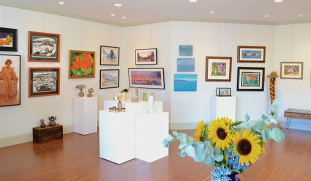 Strawberry Rock Gallery. - PHOTO COURTESY OF OCEAN PEACE DESIGNS
