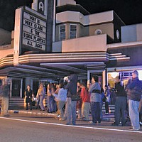 Tale of Two Theaters Street concert outside of the Arcata Theater Lounge. Photo by Bob Doran