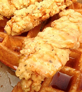 Street waffles are a sign of a just society. - JENNIFER FUMIKO CAHILL
