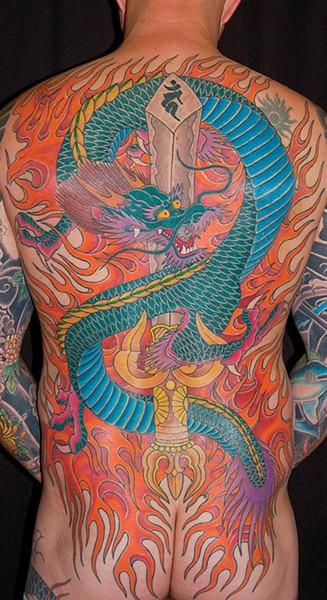 Tattoo art by Brian Kaneko - PHOTO COURTESY OF BRIAN KANEKO