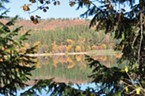 <b>Ted Silva's</b> landscape photos of Lake Britton, Burney Falls and Mount Lassen are on display at <b>Strehl's Family Shoes.</b>