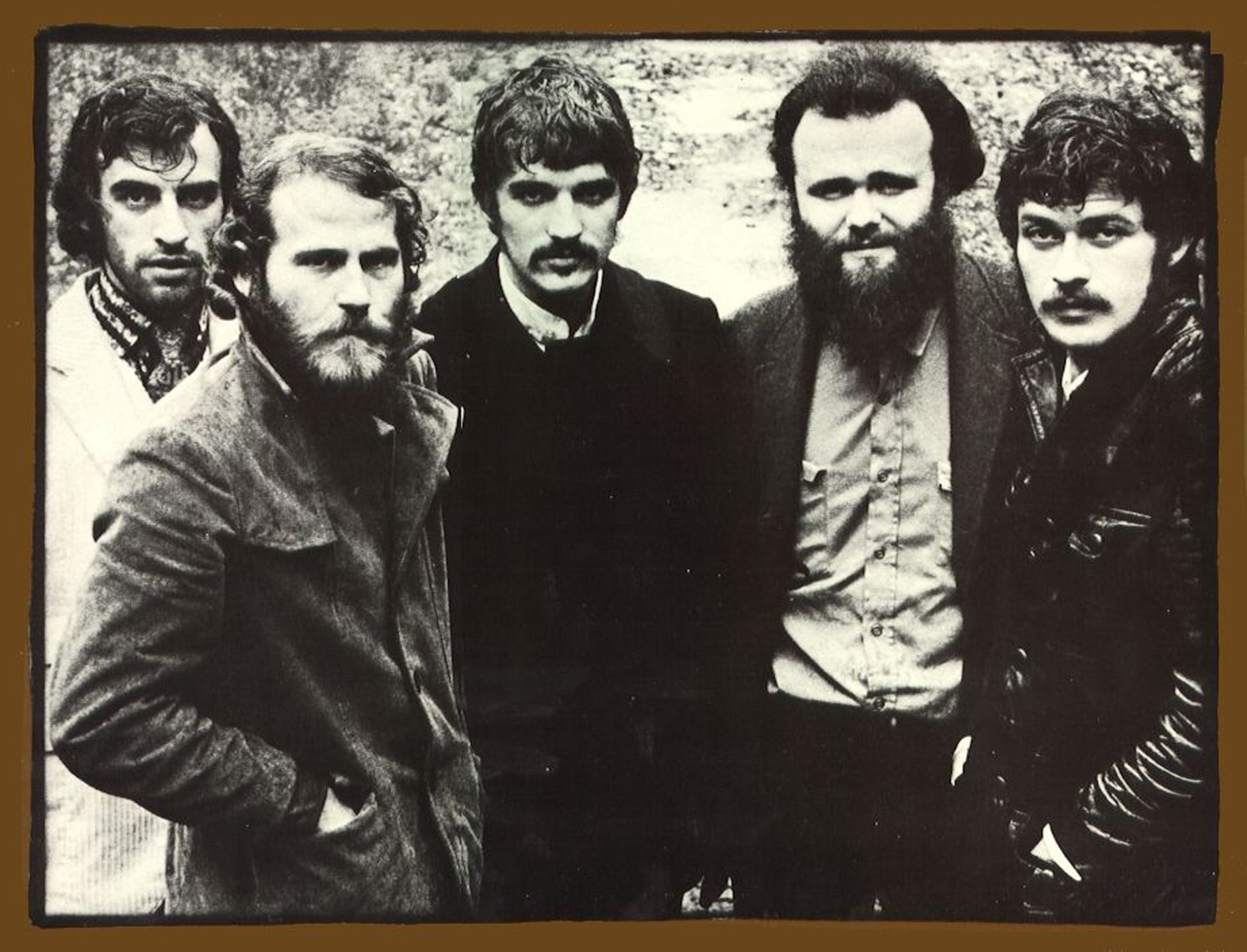 The Band (Levon Helm second from left)