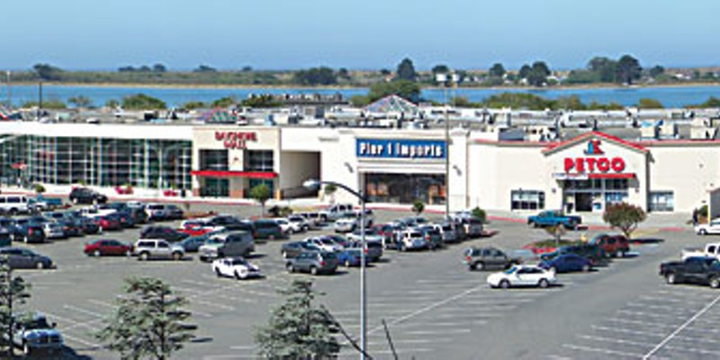 Mall Town The Bayshore Mall as seen from up on the bluff at Fort Humboldt. Photo by Heidi Walters