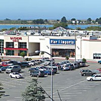 The Bayshore Mall as seen from up on the bluff at Fort Humboldt. Photo by Heidi Walters