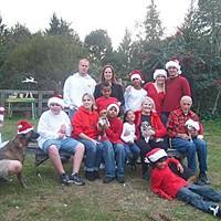 The CASA The Carr family. Photo courtesy of Jan Carr