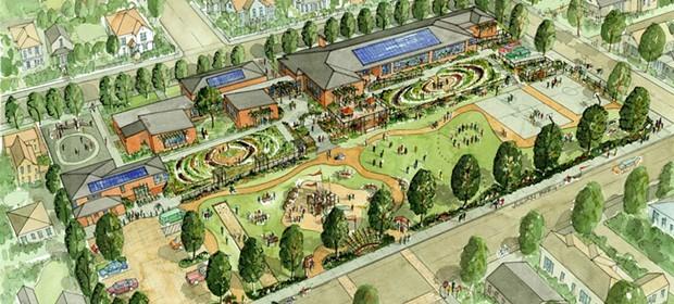 Plans for the Jefferson School site. - RENDERING BY JULIAN BERG