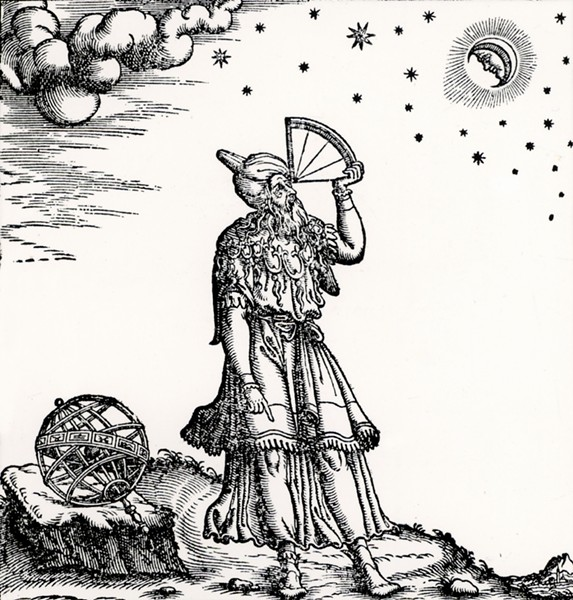 The Greek astronomer Claudius Ptolomy