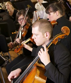 "HUMBOLDT SYMPHONY - The Humboldt Symphony performs French composer Darius Milaud's jazzy ""The Creation of the World"" on Friday evening at 8 p.m. and Sunday afternoon at 3 p.m. in HSU's Fulkerson Recital Hall. Also on the program, a medley assembled by the symphony's violinist/fiddlers."