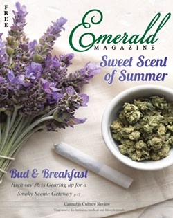 SUBMITTED - The magazine's Marijuana makeover.