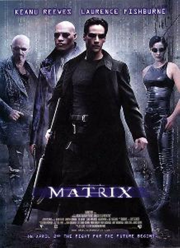 The Matrix - © 1999 WARNER BROS. ENTERTAINMENT INC. (LO-RES IMAGE = FAIR USE UNDER U.S. COPYRIGHT LAW.)