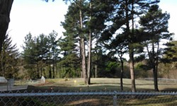TINA MOULTON - The newly fences Eureka Dog Park - open in the spring!