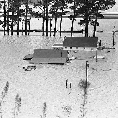 1964 Flood — Eel River