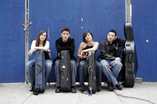 The Parker Quartet - PHOTO BY JANETTE BECKMAN
