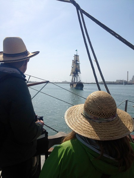The passengers aboard the Chieftain were in no danger from the Lady. - PHOTO BY HEIDI WALTERS