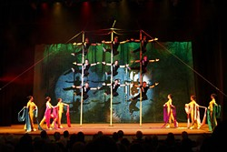 IAI PRESENTATIONS, INC - The Peking Acrobats on stage