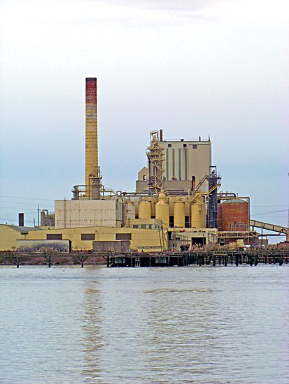 The pulp mill. Photo by Heidi Walters