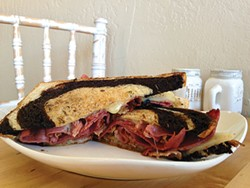 PHOTO BY JENNIFER FUMIKO CAHILL - The Reuben goes uptown.