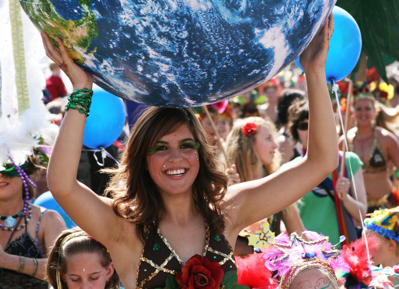 The Samba Parade - PHOTO BY BOB DORAN