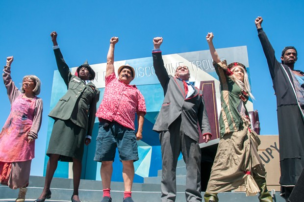 The San Francisco Mime Troupe - PHOTO BY FLETCHER OAKES