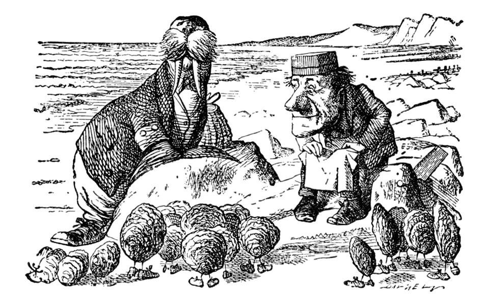 The Walrus and The Carpenter - ILLUSTRATION BY SIR JOHN TENNIEL