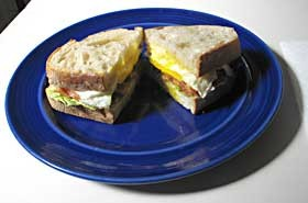 The World's Greatest Sandwich. Photo by Bob Doran