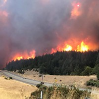 UPDATE: Delta Fire Explodes in Size: Closure of I-5 Impacting SR 299