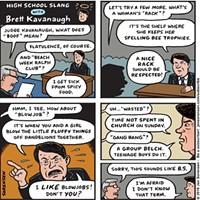 High School Slang According to Brett Kavanaugh