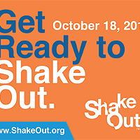 Reminder: ShakeOut Earthquake Drill This Morning