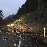 101 Opened After Slide South of Crescent City
