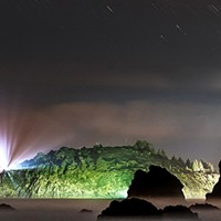 North Coast Night Lights: Here at the Edge