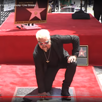 Guy Fieri Makes His Mark on the Walk of Fame