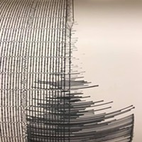 A Single Quake Hit Saturday Night
