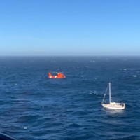 Coast Guard Rescues 3, Chihuahua from Battered Sailboat (With Video)