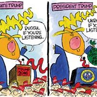 Candidate Trump VS President Trump
