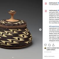 Local Native Basketry at the Metropolitan Museum of Art