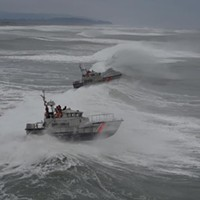 Coasties Brave 'Extremely Dangerous' Conditions for Training