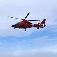 #ICYMI: Here's Video of the Coast Guard Flyover to Honor Frontline Workers