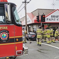 Vehicle Collision and Extrication on E Street and Henderson; Humboldt Bay Fire Urges Extra Caution Driving in Rainy Weather Conditions
