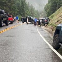 Traffic Backing Up on 299 After Head-On Crash