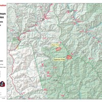 Red Salmon Complex Remains at 1,060 Acres