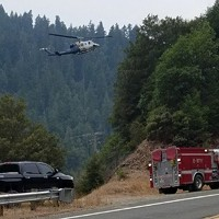 Crash Causes Fire on SR 96