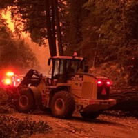 101 Reopens Near Willits