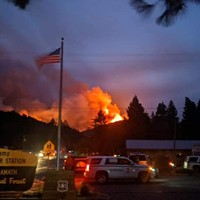 Slater Fire at Near Happy Camp Remains Zero Percent Contained