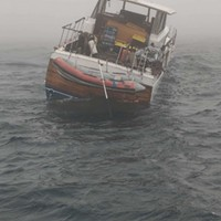 Coast Guard Rescues Two From Boat