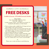 Need a Student Desk? ECS Has Some for Free