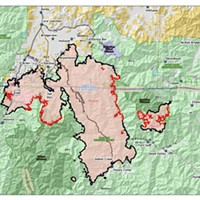 Slater-Devil Fires: Acreage Holding, Containment Up Slightly