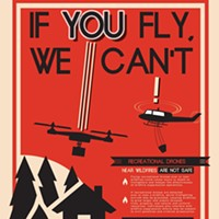 Drone Intrudes on Restricted Airspace Over Red Salmon Fire