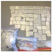 HCDTF Seize One-Fourth Pound of Meth and 1,300 Oxycodone Pills <i></i>