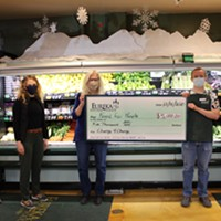 Eureka Natural Foods' Change 4 Change Program Raises $5,000 for Food for People