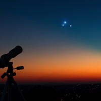 Planetary Trifecta: Triple Conjunction of Saturn, Mercury and Jupiter